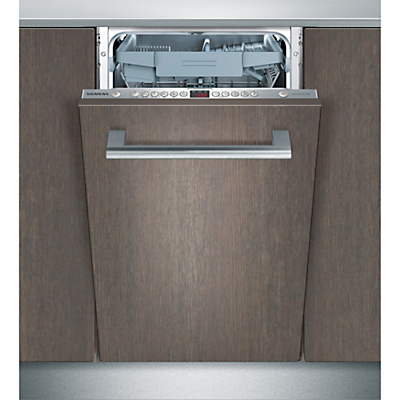 Siemens SR66T090GB Fully Integrated Slimline Dishwasher Stainless Steel