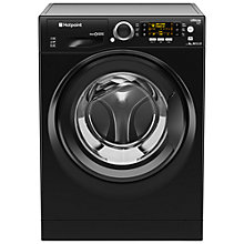 Buy Hotpoint RPD9467JKK Ultima S-Line Freestanding Washing Machine, 9g Load, A+++ Energy Rating, 1400rpm Spin, Black Online at johnlewis.com