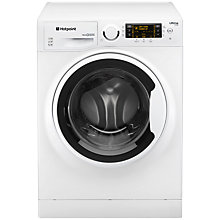 Buy Hotpoint RPD10457J Ultima S-Line Freestanding Washing Machine, 10kg Load, A+++ Energy Rating, 1400rpm Spin, White Online at johnlewis.com