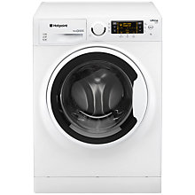 Buy Hotpoint RPD9647J Ultima S-Line Freestanding Washing Machine, 9kg Load, A+++ Energy Rating, 1600rpm Spin, White Online at johnlewis.com