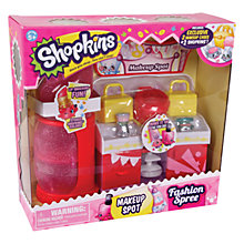 Buy Shopkins Fashion Spree: Make-Up Spot Collection Online at johnlewis.com