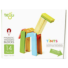 Buy Tegu Tints Building Set, 14-Piece Online at johnlewis.com