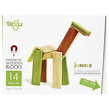 Buy Tegu Jungle Building Set, 14-Piece Online at johnlewis.com