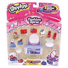 Buy Shopkins Fashion Spree: Best Dressed Collection Online at johnlewis.com