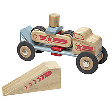 Buy Tegu Stunt Team Jumper Building Set Online at johnlewis.com