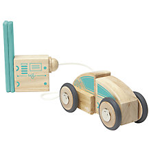 Buy Tegu Future Circuit Racer Building Set Online at johnlewis.com