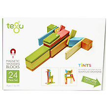 Buy Tegu Tints Building Set, 24-Piece Online at johnlewis.com