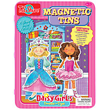 Buy T.S.Shure Daisy Girls Dress-Ups Magnetic Tin Playset Online at johnlewis.com