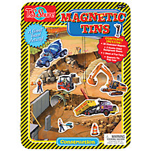 Buy T.S.Shure Construction Magnetic Tin Playset Online at johnlewis.com