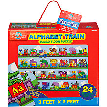 Buy T.S.Shure Alphabet Train Jumbo Floor Puzzle Online at johnlewis.com