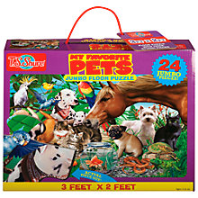 Buy T.S.Shure My Favourite Pets Jumbo Floor Puzzle Online at johnlewis.com