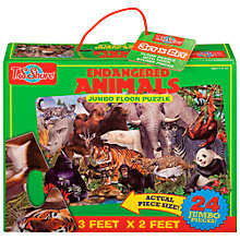 Buy T.S.Shure Endangered Animals Jumbo Floor Puzzle Online at johnlewis.com