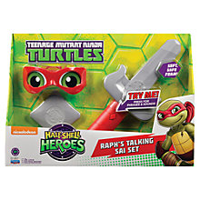 Buy Teenage Mutant Ninja Turtles Half-Shell Heroes: Raph's Talking Sai Set Online at johnlewis.com