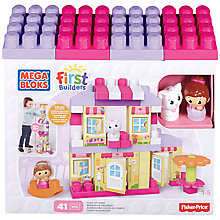Buy Mega Bloks First Builders Cosy Cottage Online at johnlewis.com