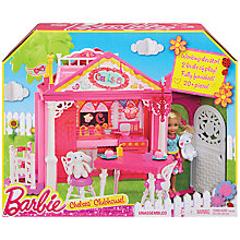 Buy Barbie Chelsea Clubhouse Online at johnlewis.com