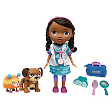 Buy Doc McStuffins Interactive Doc & Pets Online at johnlewis.com