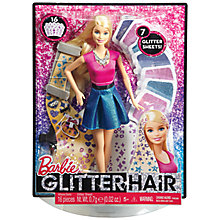 Buy Barbie Glitter Hair Set Online at johnlewis.com