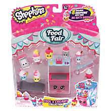 Buy Shopkins Food Fair: Cool and Creamy Collection Playset Online at johnlewis.com