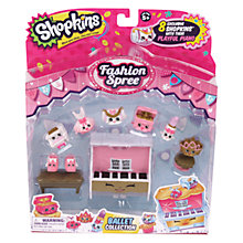 Buy Shopkins Fashion Spree: Ballet Collection Online at johnlewis.com