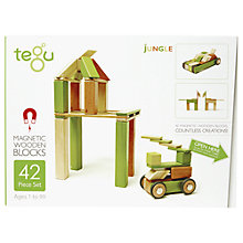 Buy Tegu Jungle Building Set, 42-Piece Online at johnlewis.com