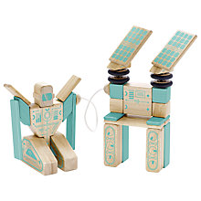 Buy Tegu Future Magnetron Building Set Online at johnlewis.com
