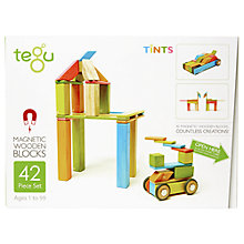 Buy Tegu Tints Building Set, 42-Piece Online at johnlewis.com