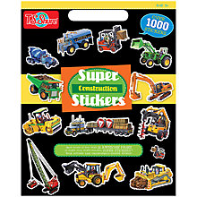 Buy T.S.Shure Construction Super Stickers Online at johnlewis.com