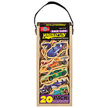 Buy T.S.Shure MagnaFun Race Cars Wooden Magnets, Set of 20 Online at johnlewis.com