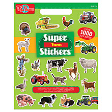 Buy T.S.Shure Farm Super Stickers Online at johnlewis.com