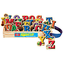 Buy T.S.Shure MagnaFun Alphabet Wooden Magnets, Set of 26 Online at johnlewis.com
