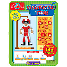 Buy T.S.Shure Hangman Game Magnetic Tin Playset Online at johnlewis.com