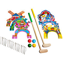 Buy T.S.Shure Wooden Indoor/Outdoor Mini Golf Set Online at johnlewis.com