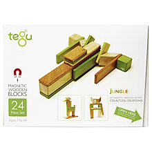 Buy Tegu Jungle Building Set, 24-Piece Online at johnlewis.com