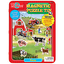 Buy T.S.Shure Farm Magnetic Tin Playset Online at johnlewis.com