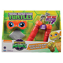 Buy Teenage Mutant Ninja Turtles Half-Shell Heroes: Mikey's Talking Nunchuck Set Online at johnlewis.com