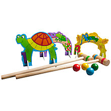 Buy T.S.Shure Wooden Indoor/Outdoor Mini Croquet Set Online at johnlewis.com