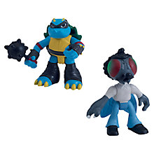 Buy Teenage Mutant Ninja Turtles Half-Shell Heroes: Stockman-Fly & Slash Online at johnlewis.com