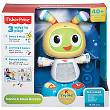Buy Fisher-Price Dance & Move BeatBo with free Laugh & Learn Smart Phone Toy Online at johnlewis.com