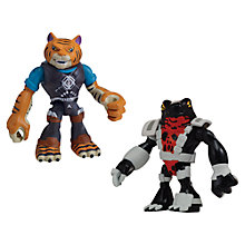 Buy Teenage Mutant Ninja Turtles Half-Shell Heroes: Tiger Claw & Newtralizer Online at johnlewis.com