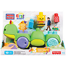Buy Mega Bloks First Builders Move 'n' Groove Caterpillar Online at johnlewis.com