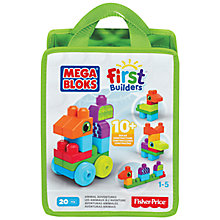 Buy Mega Bloks First Builders Animal Adventures Online at johnlewis.com