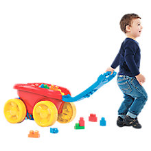Buy Mega Bloks Scooping Wagon, Classic Online at johnlewis.com