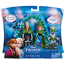 Buy Disney Frozen Troll Wedding Gift Set Online at johnlewis.com