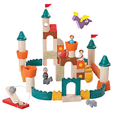 Buy Plan Toys Fantasy Blocks Play Set Online at johnlewis.com