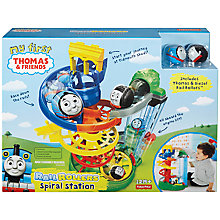 Buy Thomas & Friends Rail Rollers Spiral Station with Stacking Steamies set Online at johnlewis.com