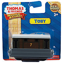 Buy Fisher-Price Thomas & Friends Wooden Railway, Toby Online at johnlewis.com