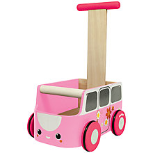 Buy Plan Toys Van Walker, Pink Online at johnlewis.com
