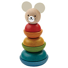 Buy Plan Toys Stacking Ring Online at johnlewis.com
