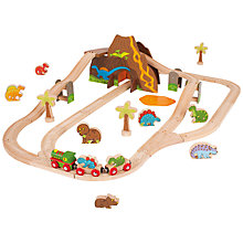 Buy Bigjigs Dinosaur Train Set Online at johnlewis.com
