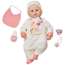 Buy Zapf Baby Annabell Baby Charlotte Doll Online at johnlewis.com
